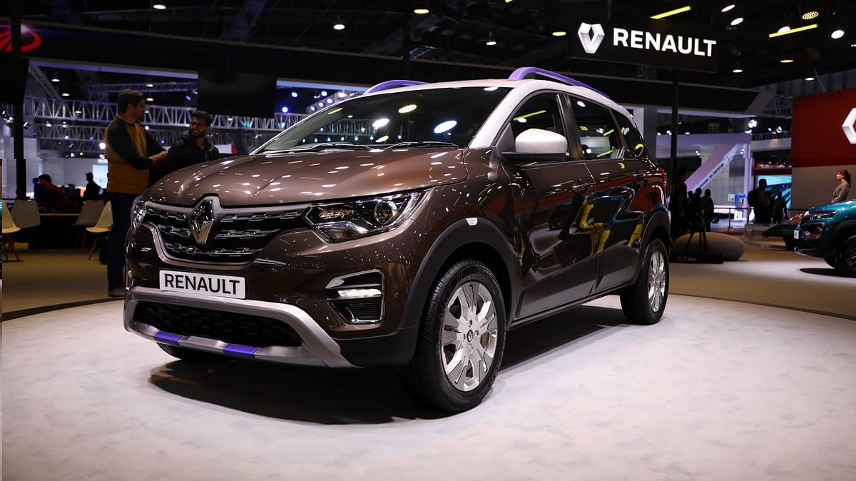 Renault Triber AMT at the Auto Expo 2020