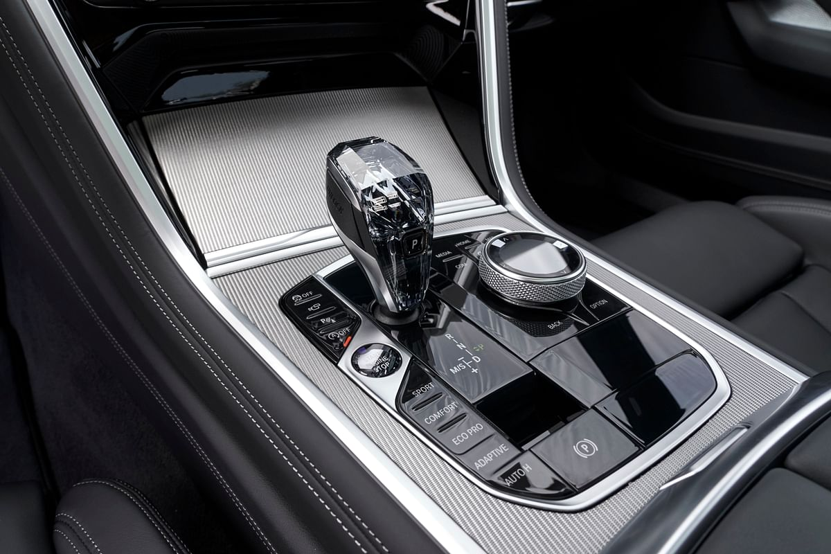 BMW's love affair with flashy gear levers