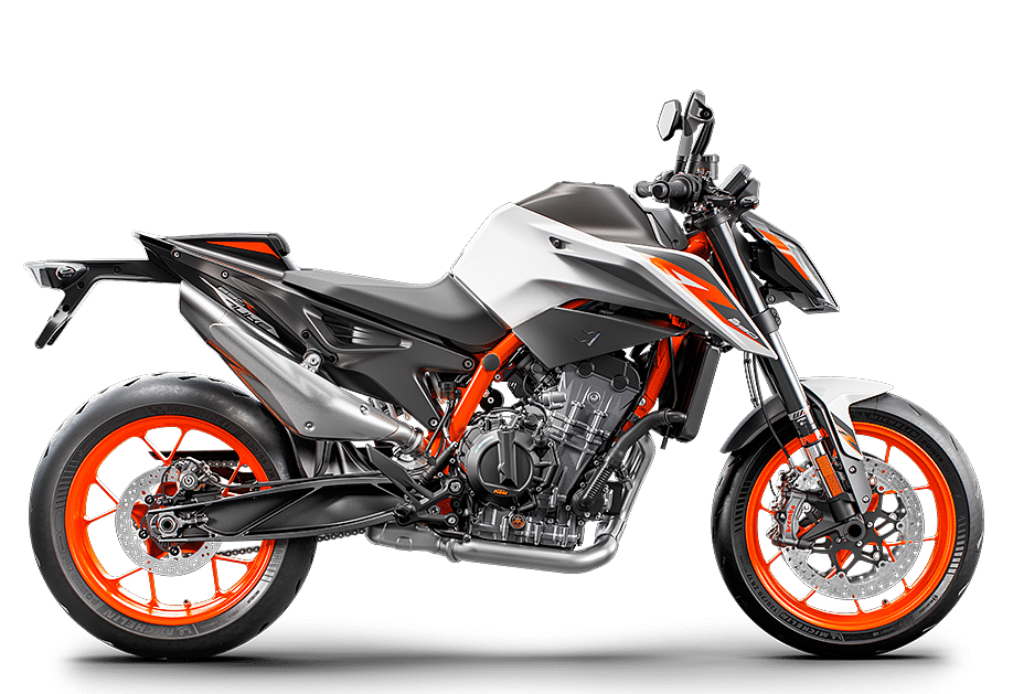 """KTM says that the new bike """"intends to exploit the best virtues of the Duke platform."""