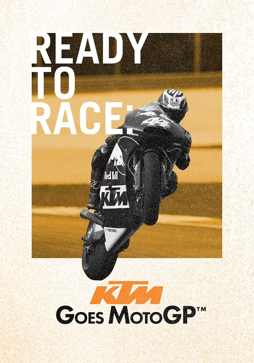 Ready to race cover portrait