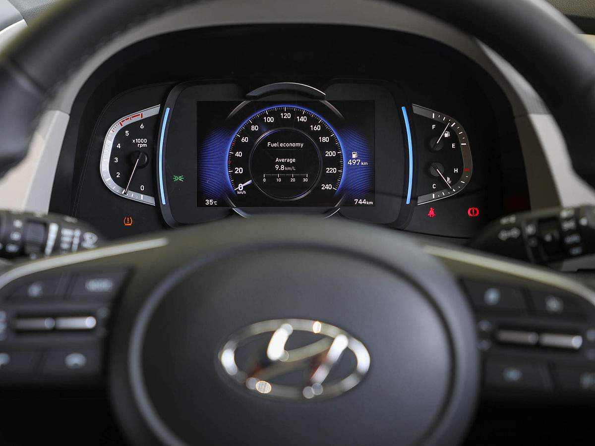 The new Creta gets a digital instrument cluster