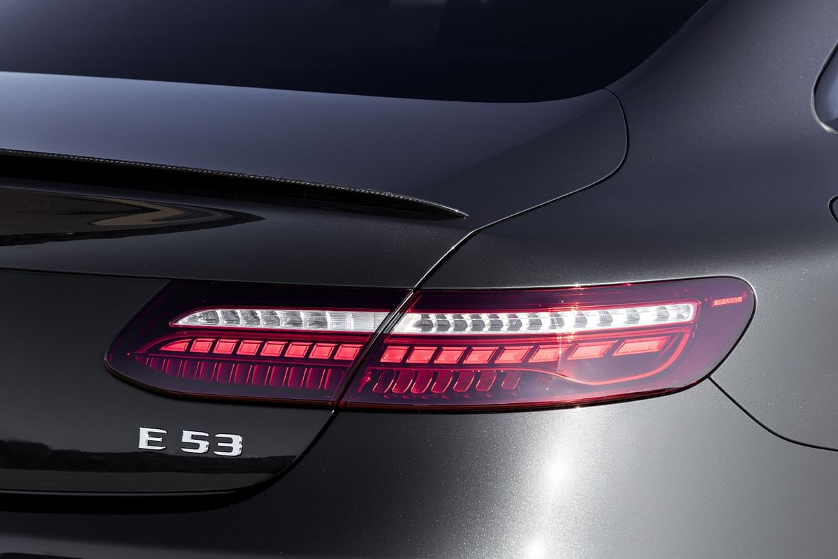 The spoiler lip is a part of the optional AMG Night Package