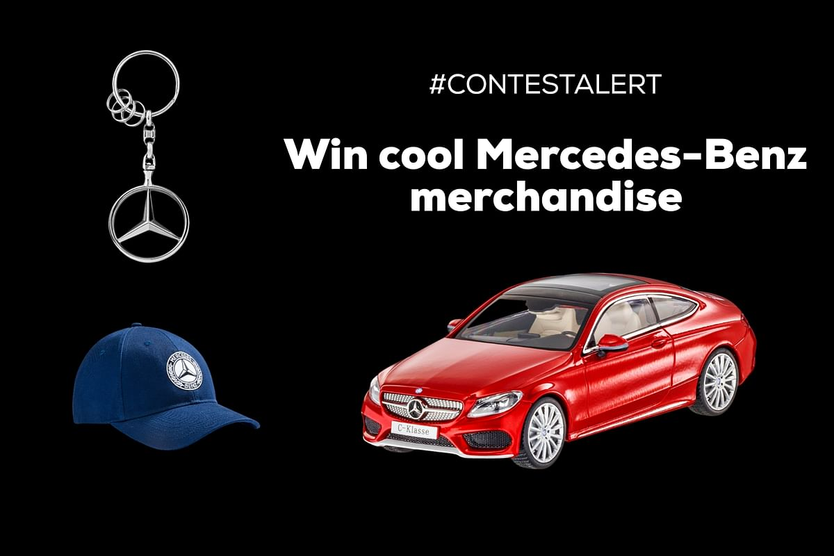 Contest Alert | Participate in the #MercFromHome contest to win cool Mercedes-Benz merchandise