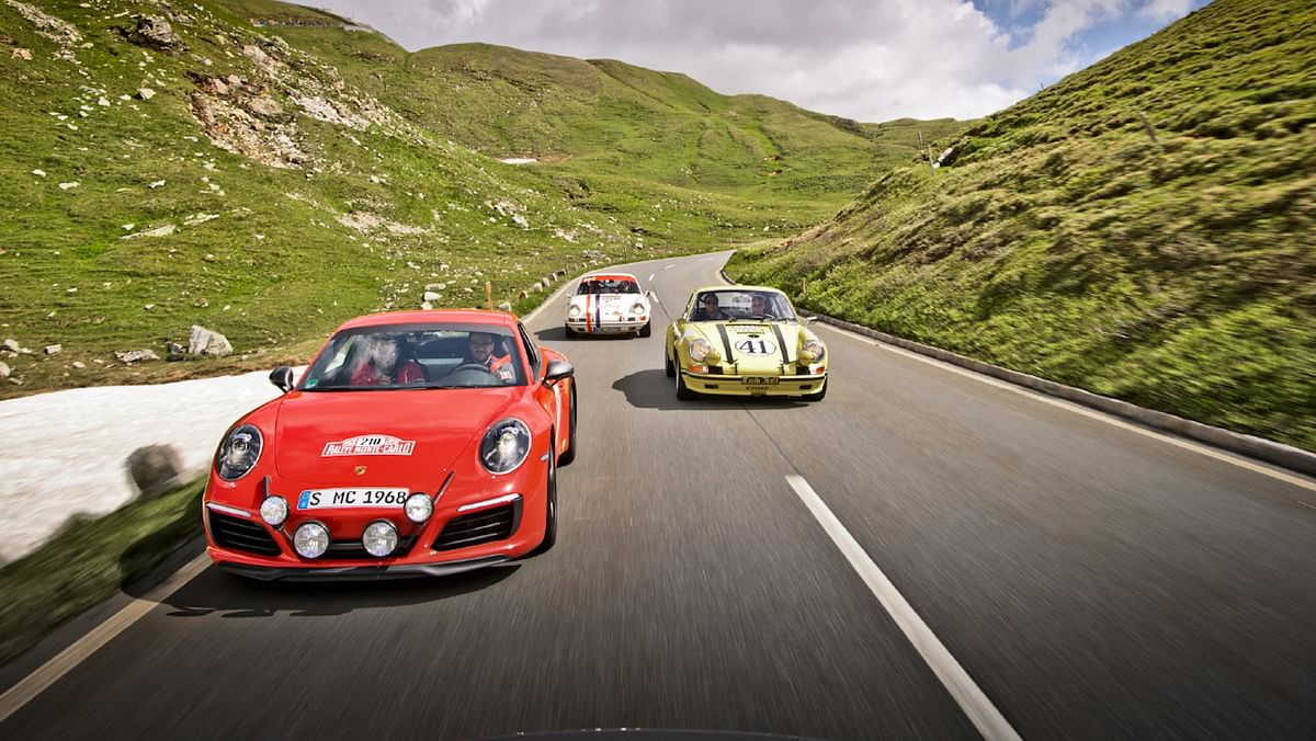 If your friends have Porsches, take them along