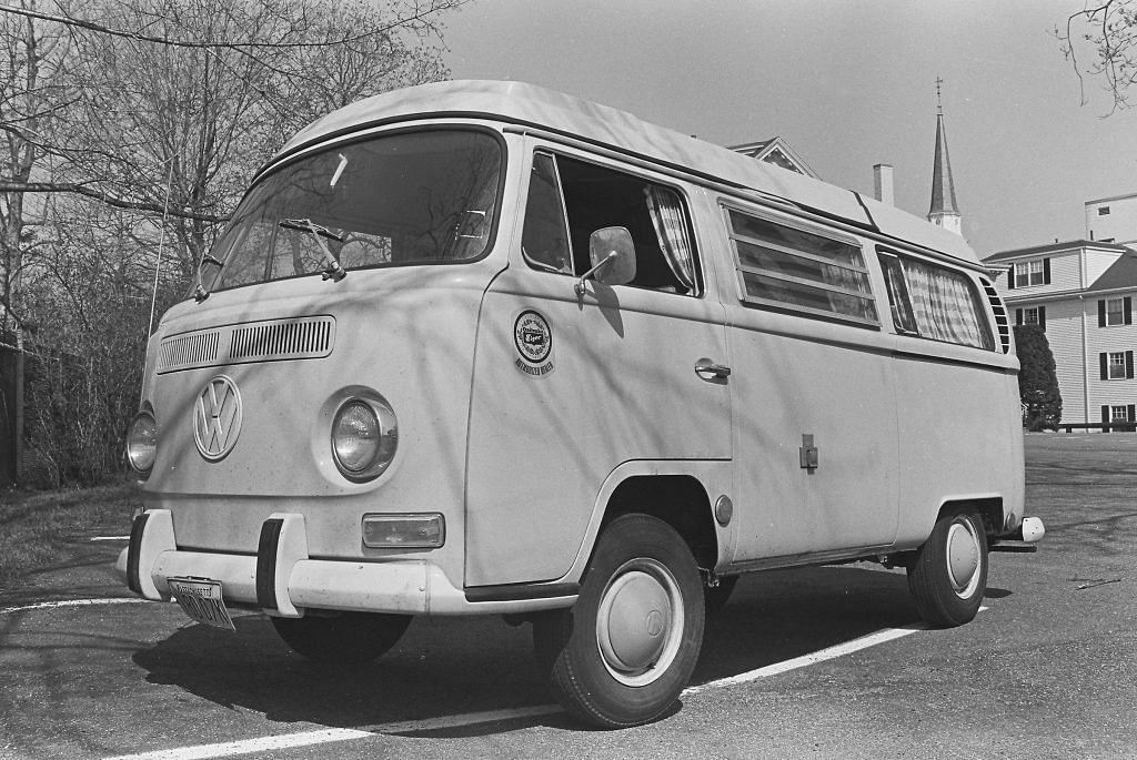 Volkswagen Type 2 Bus used by Blue Ribbon Sports which was then rebranded as Nike