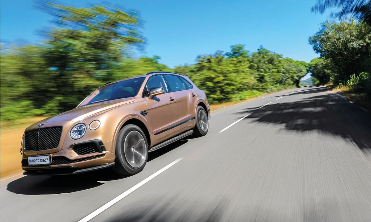 Bentley Bentayga: Part 2 of the Super SUV Showdown