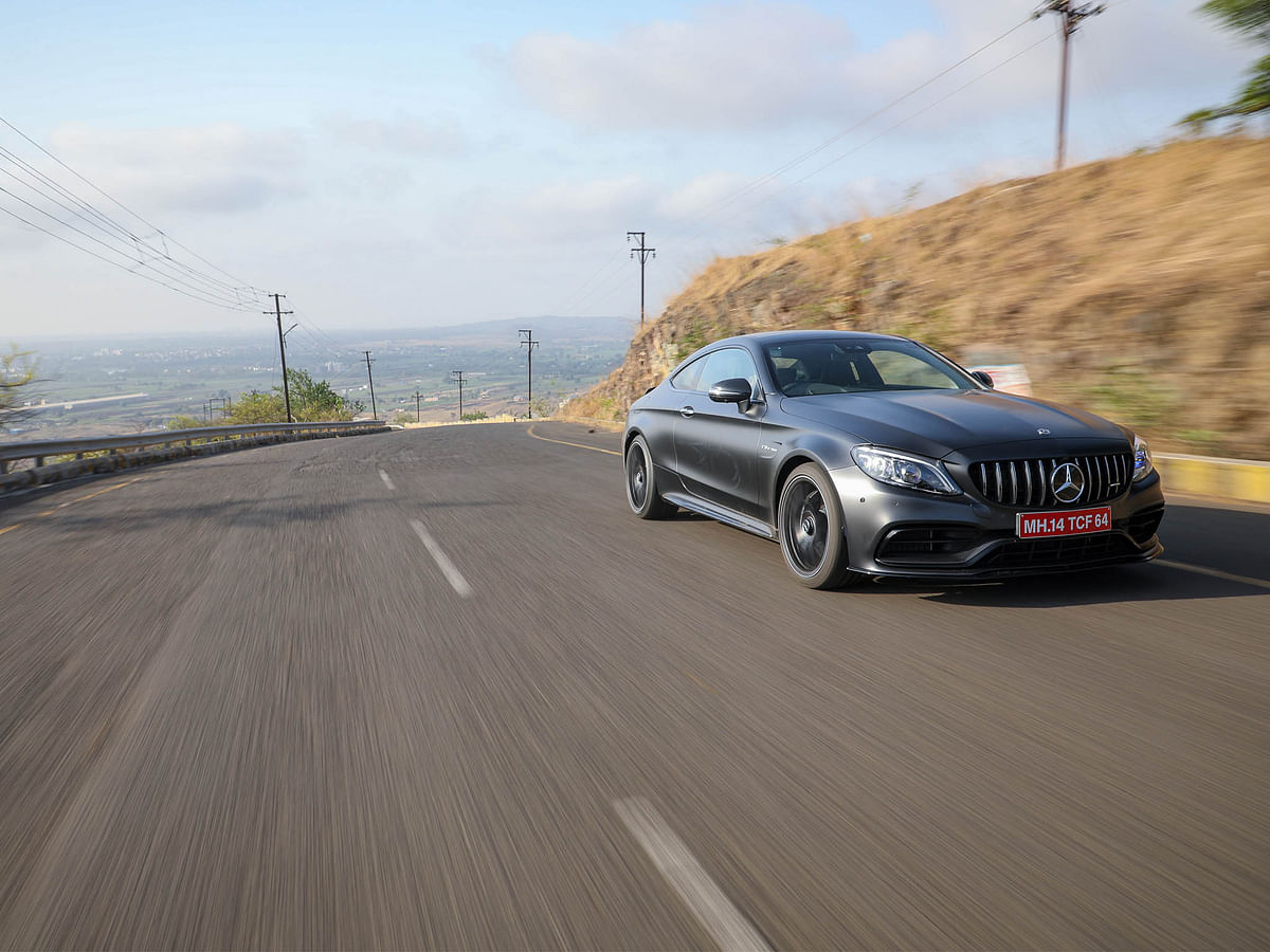 The C 63 Coupe certainly grabs more eyballs than the sedan ever did
