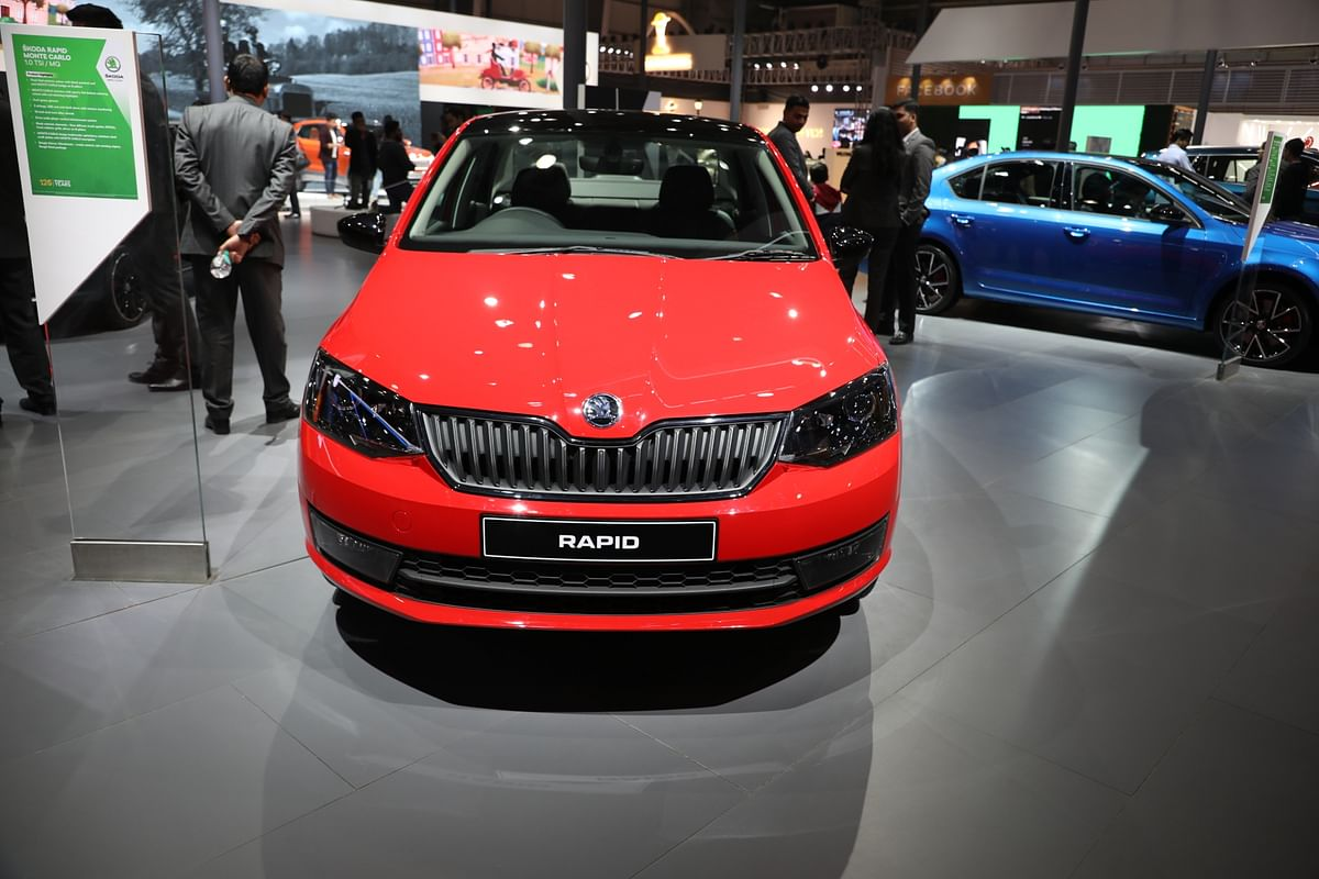 The 2020 Skoda Rapid is the third turbo-petrol mid-size sedan after the Vento and the 2020 Verna