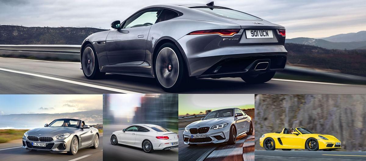 Jaguar F-Type v rivals