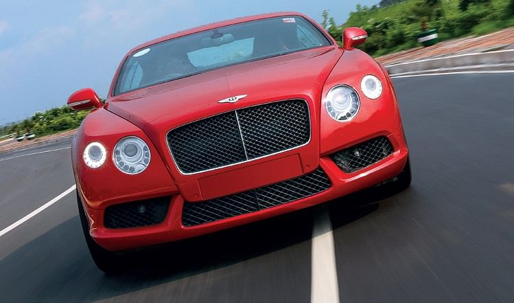 Bentley Continental GT V8. 300kmph club, part 6