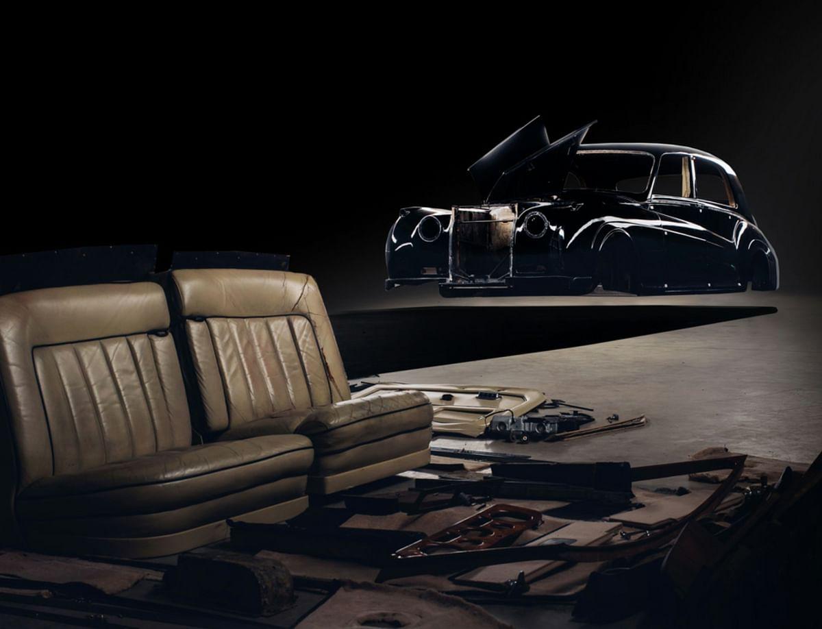 Dismantled Rolls-Royce Phantom V