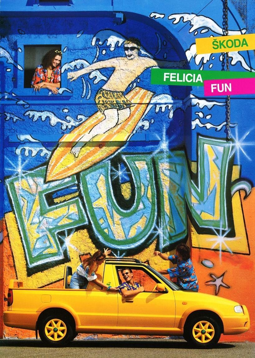 Skdoa Felicia Fun advertising poster