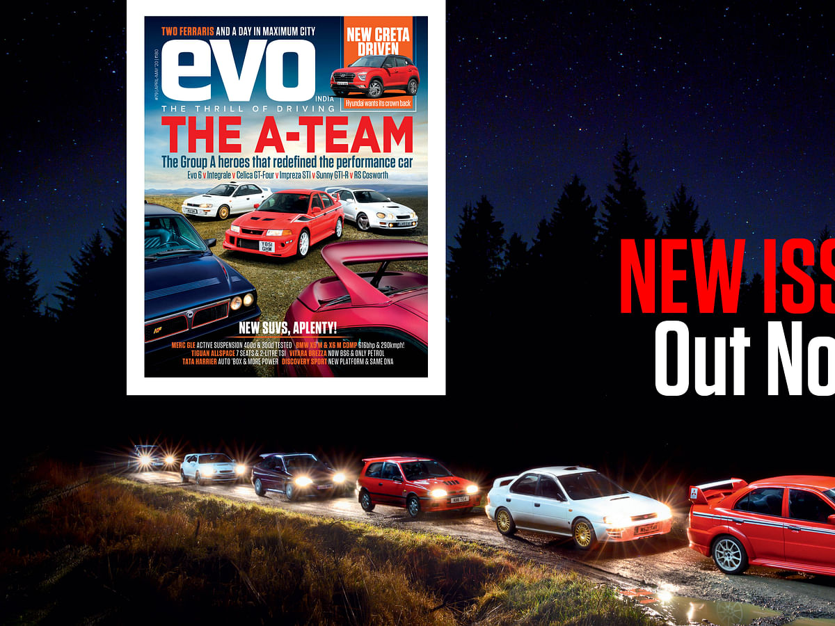Group A heroes star in evo India's latest magazine
