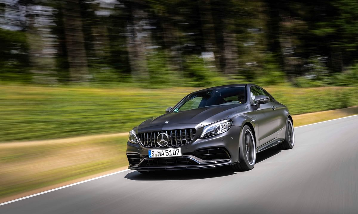 Mercedes-AMG C 63 Coupe launched at Rs 1.33 crore