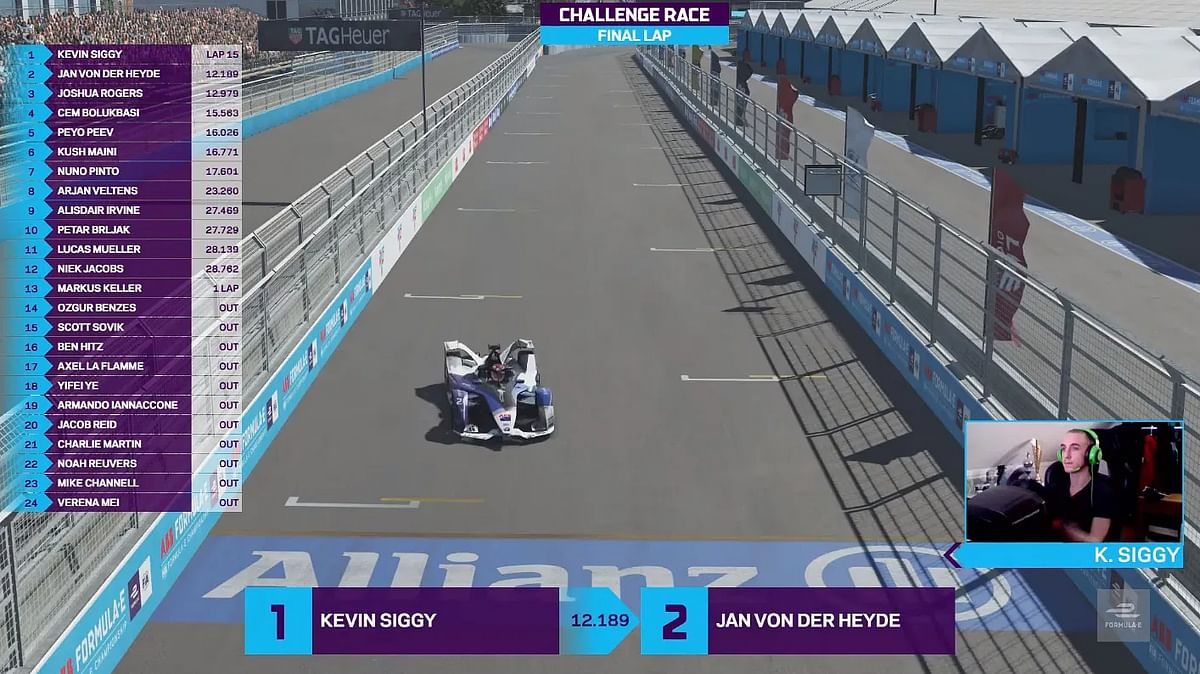 Kevin Siggy wins the Challenge grid race in round 6