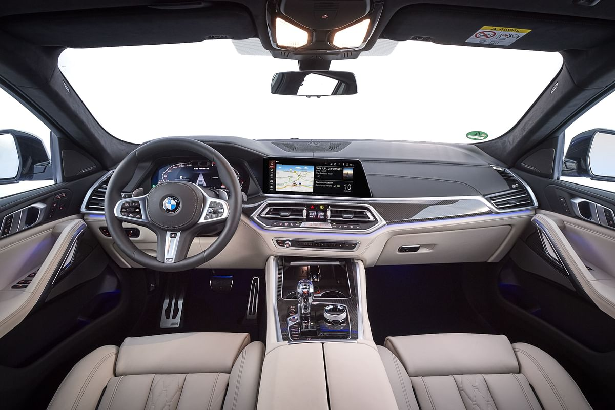 Typical BMW cabin