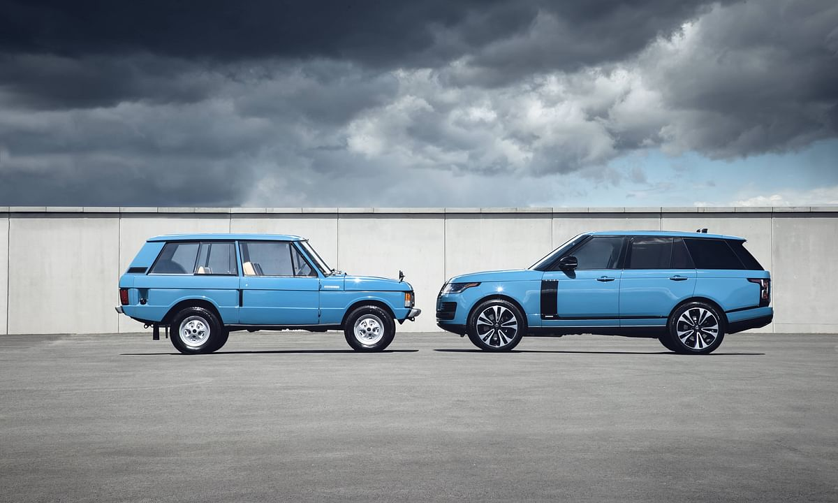Land Rover celebrates 50 years of the Range Rover with a special edition