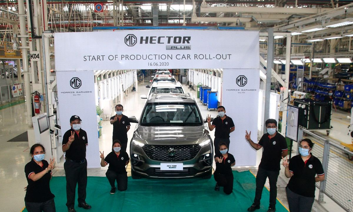 MG Motor commences Hector Plus production at Halol plant