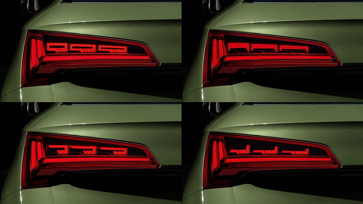 Four different signatures for taillights