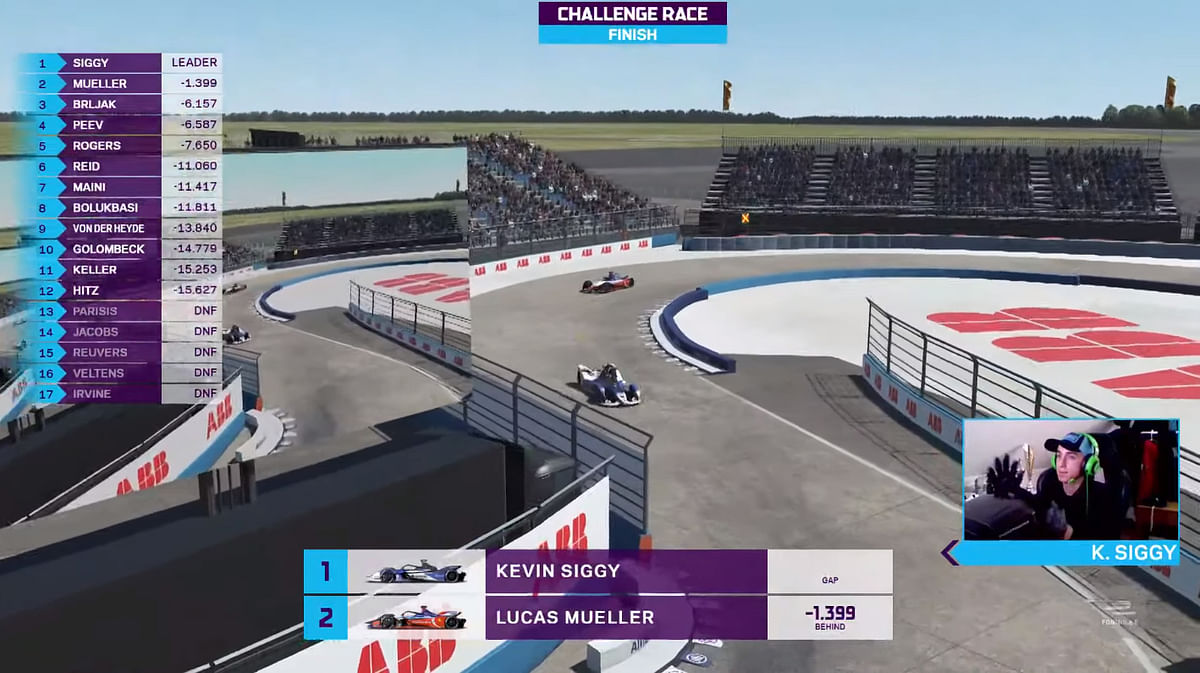 Kevin Siggy wins the Challenge grid race, and with it the championship