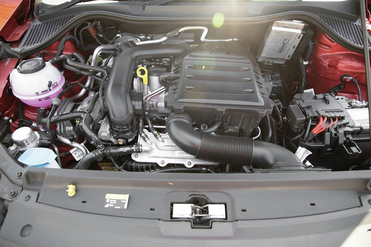 The engine makes 5bhp more to put out 108.5bhp