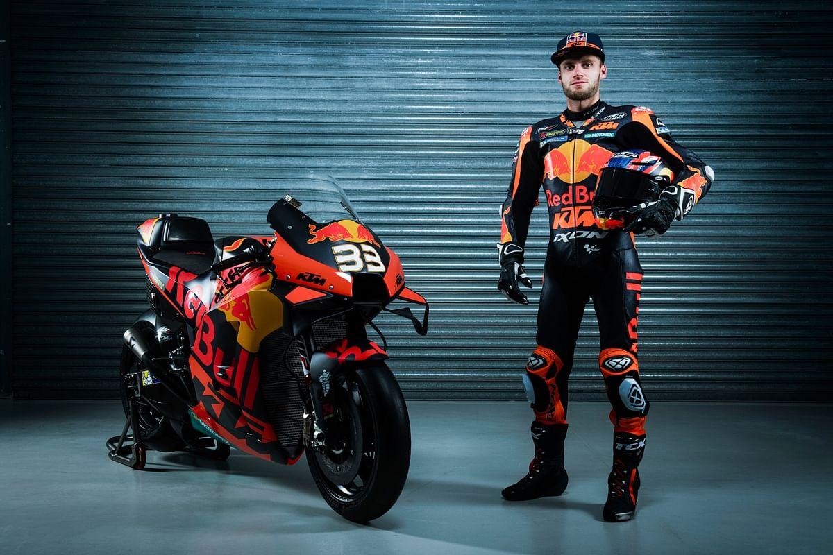 Brad Binder - Red Bull KTM Factory Racing team