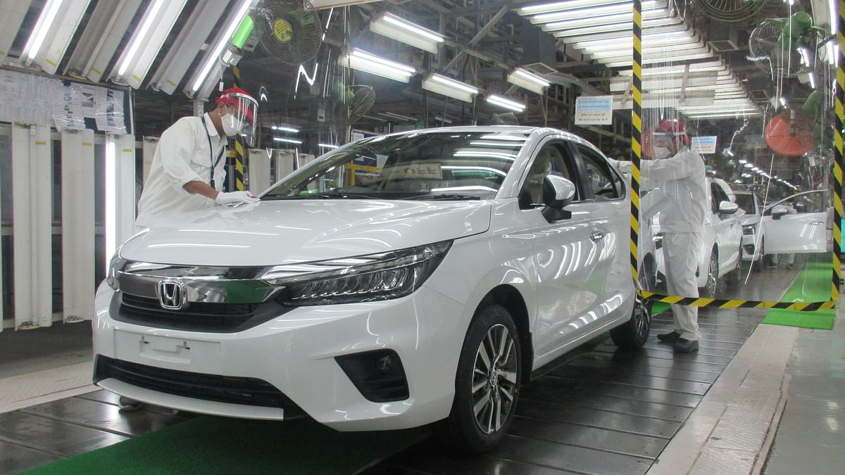 Production of the all-new Honda City begins