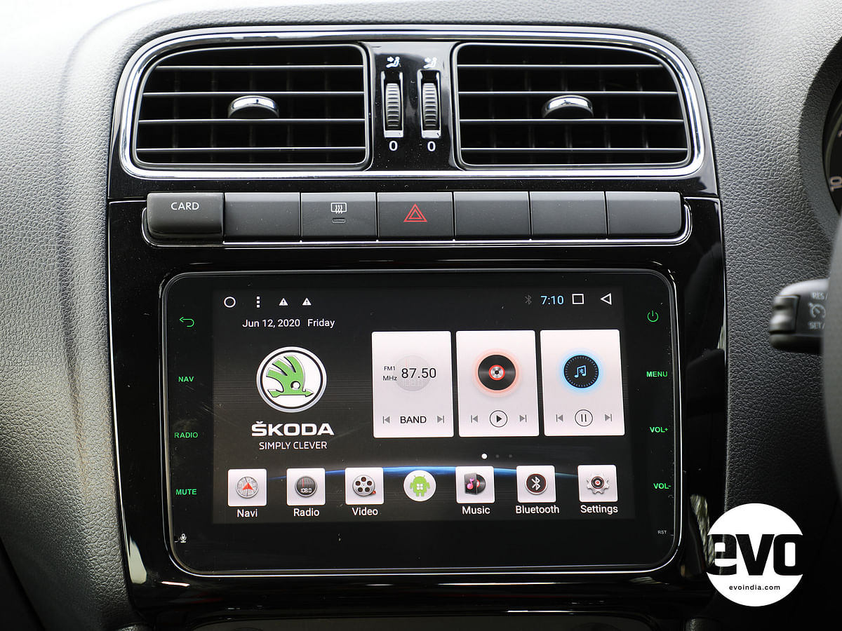Infotainment system isn't up to the mark