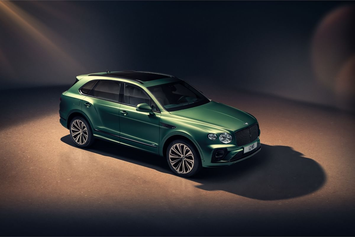 Bentley unveils the stylish new Bentayga