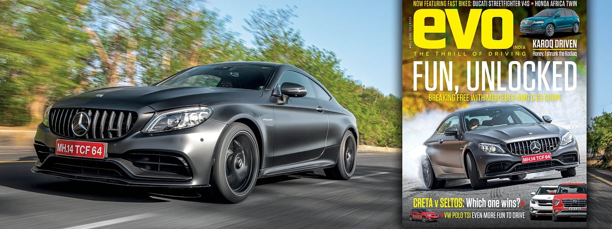 Mercedes-AMG C63 Coupe driven