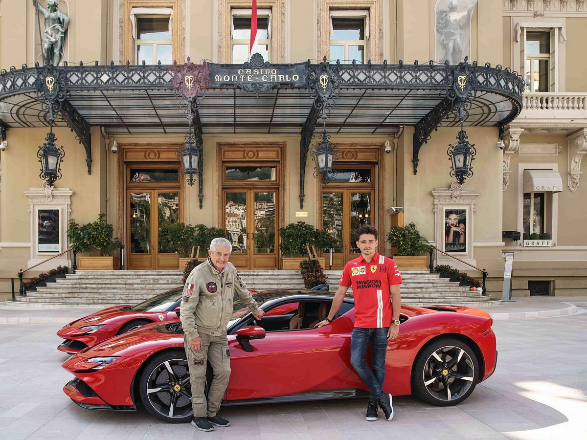 'Le Grand Rendez-vous' starring Ferrari SF90 Stradale and Charles Leclerc gets premiered