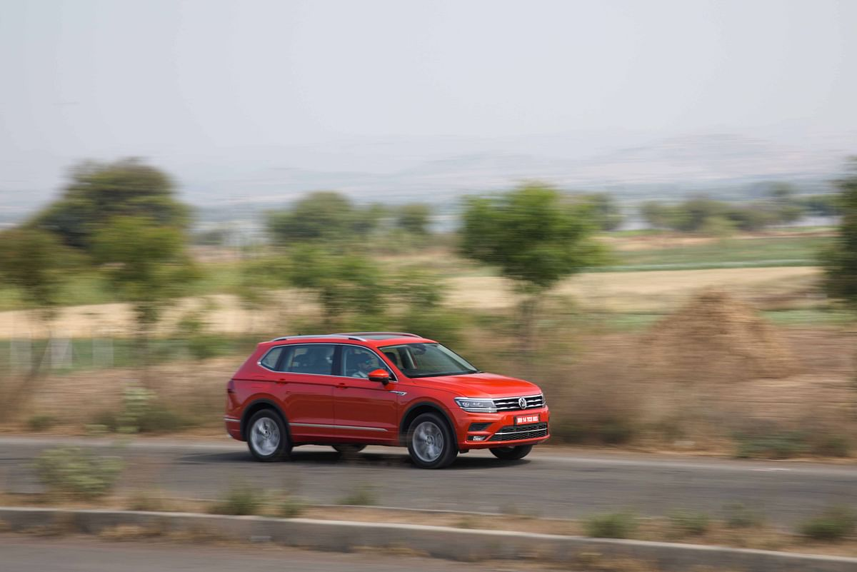 The Tiguan Allspace adds quite a bit of practicality