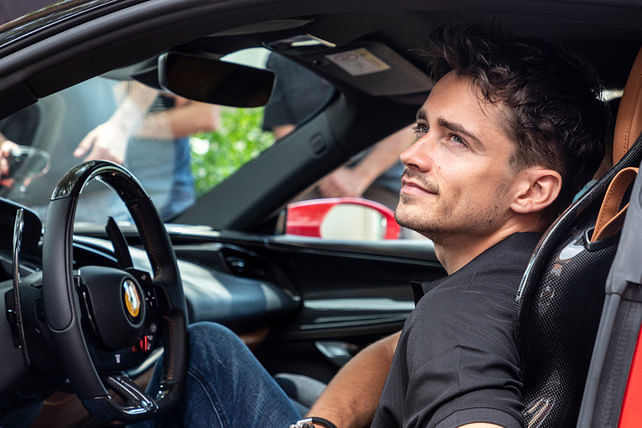 Ferrari's bright and young talent