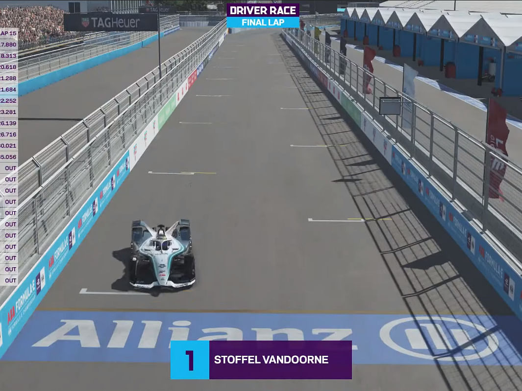 Vandoorne, Siggy stamp victories in round 6 of the FIA ABB Formula E Race At Home challenge