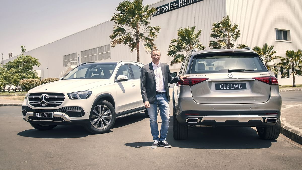 Mercedes-Benz GLE 450 LWB and 400 d LWB launched in India