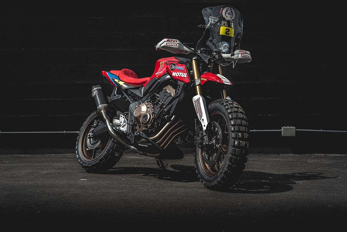 Honda dealerships across Portugal and Spain customised the CB650R