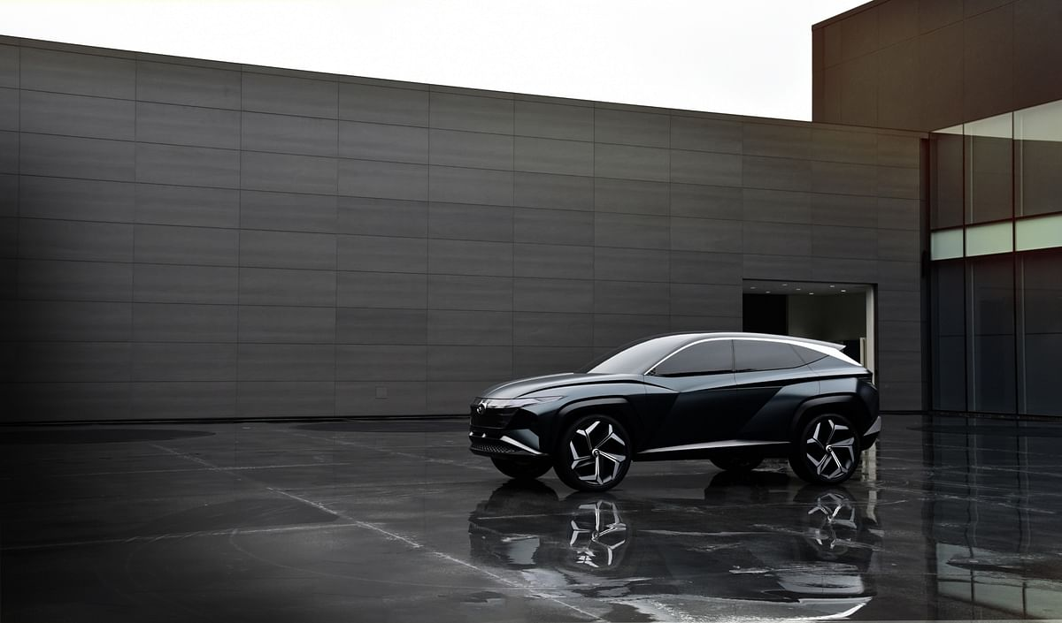 Hyundai reveals design details of the Vision T concept
