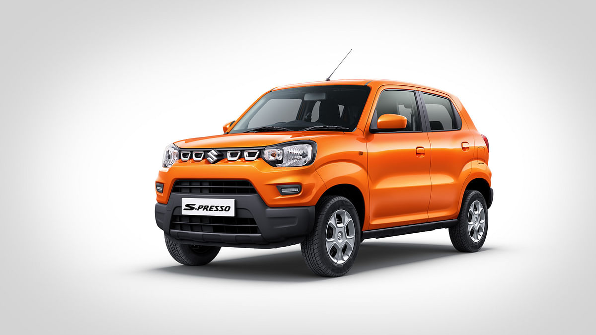 Maruti Suzuki launches CNG variants of S-Presso starting at Rs 4.84 lakh