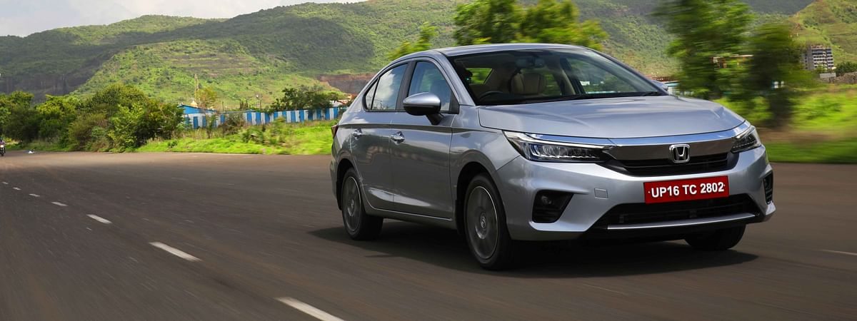 The new Honda City is a properly good looking car