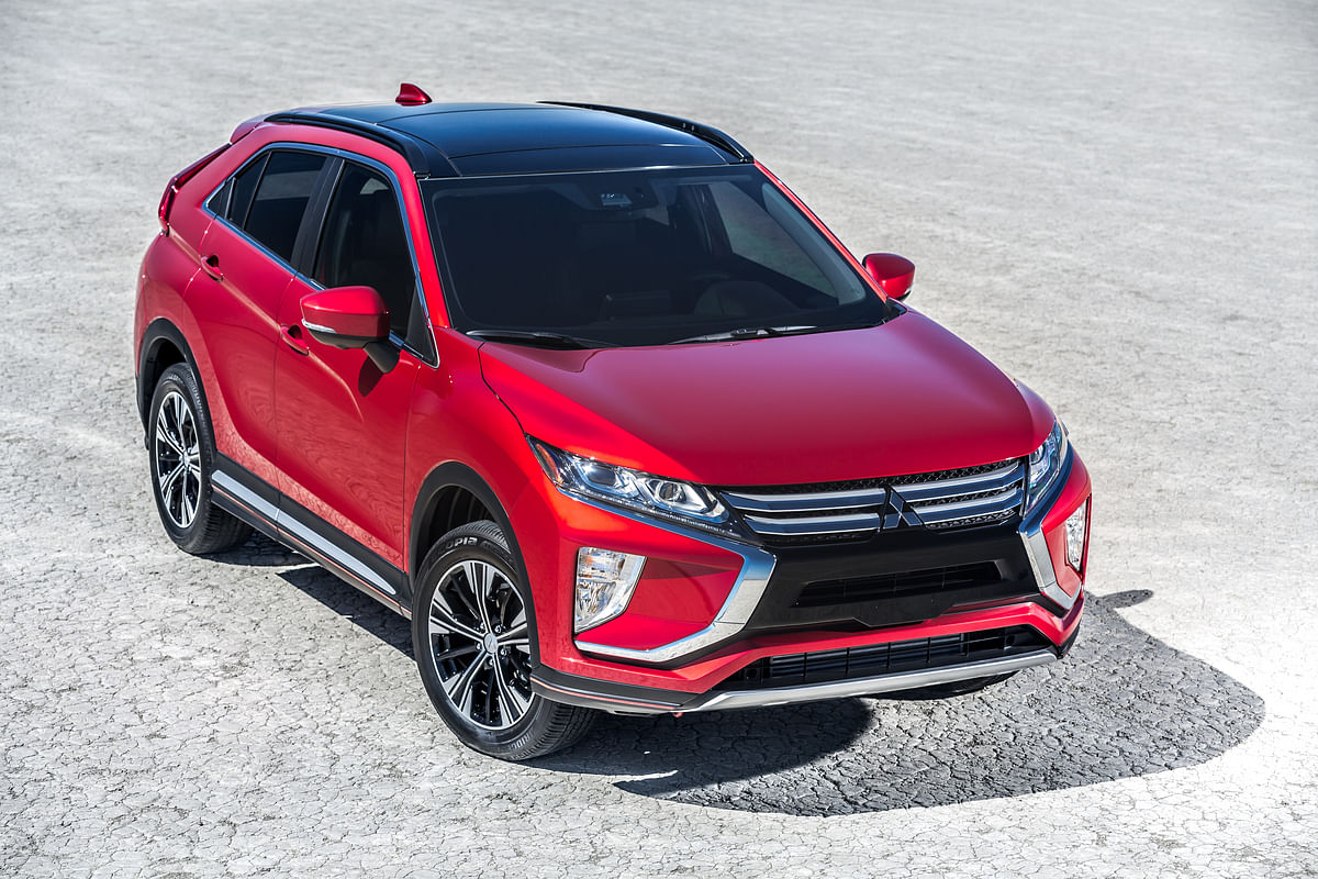 Mitsubishi's international lineup has some good looking SUVs too!