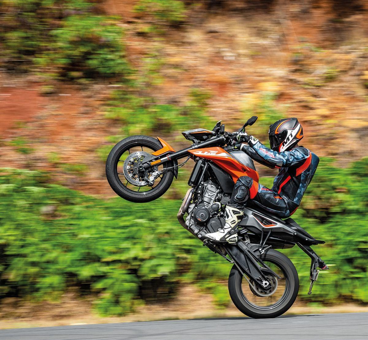 One wheeled wonder!