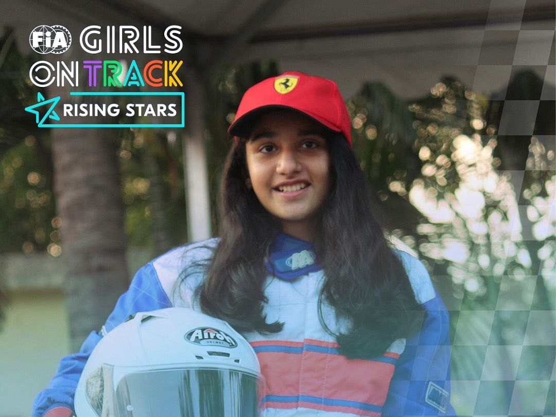 Aashi Hanspal selected for the FIA Girls on Track – Rising Stars project