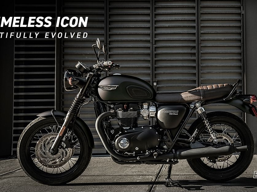 Triumph launches the Bonneville T100 and T120 Black editions in India