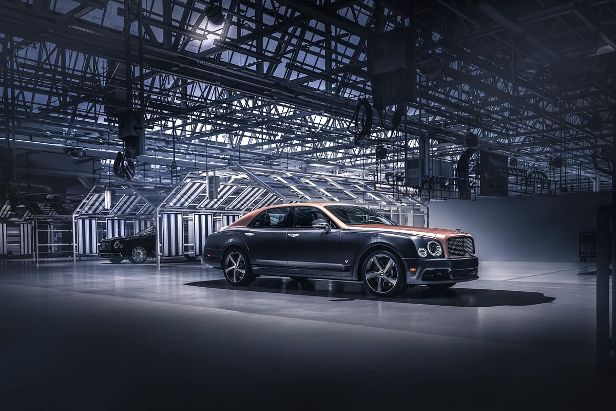Bentley Mulsanne production ended after over ten years