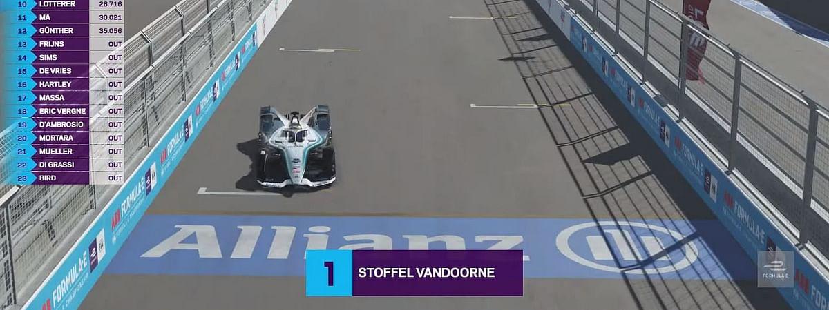 Stoffel Vandoorne wins the Drivers grid race in round 6