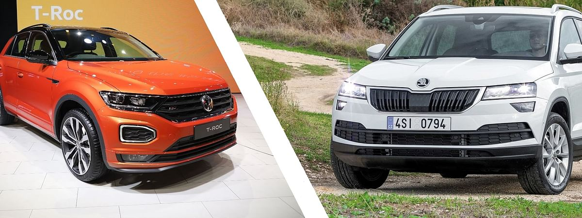 Both the T-Roc and Karoq have similar underpinnings
