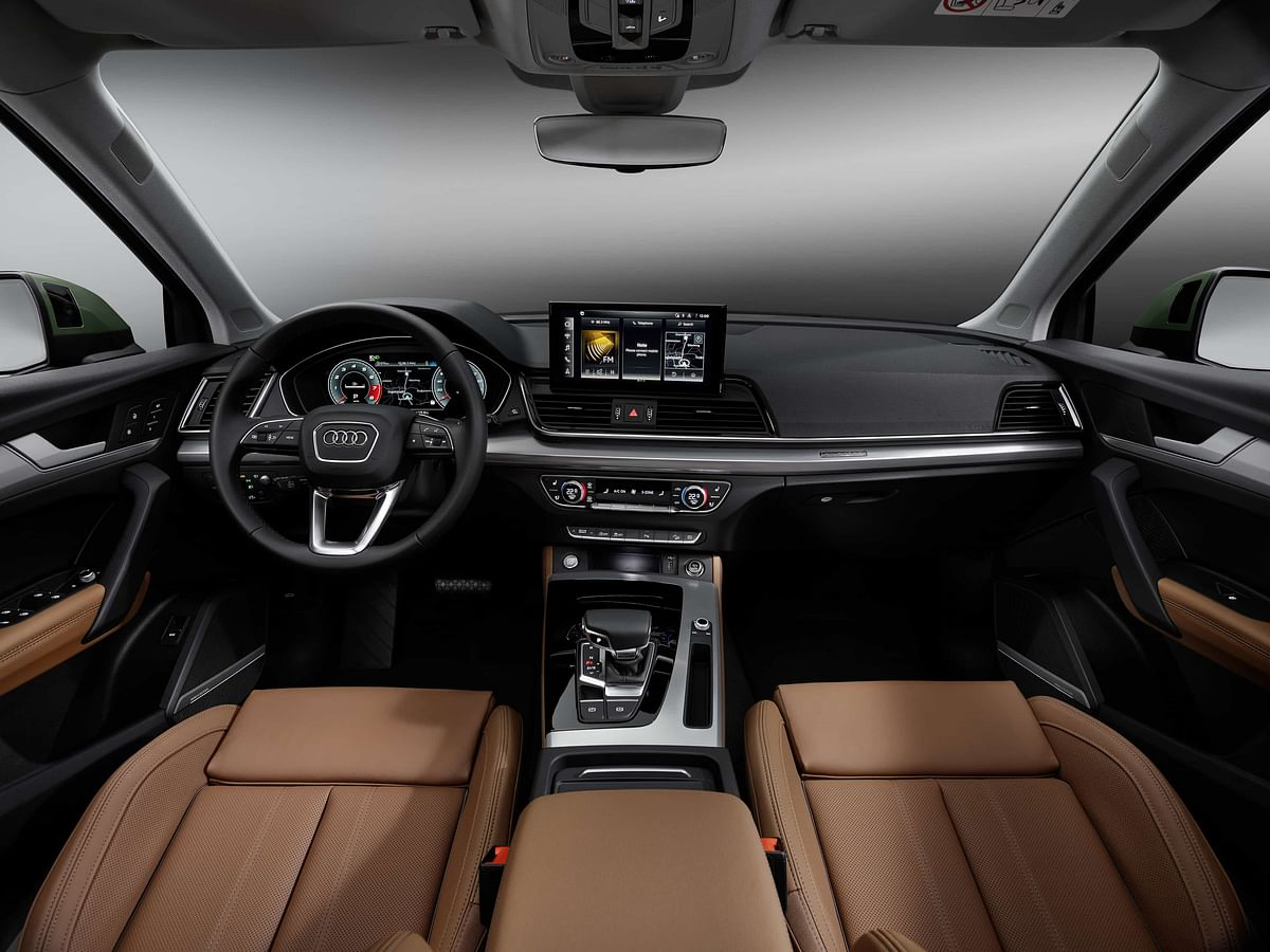Interior is largely the same but gets more tech