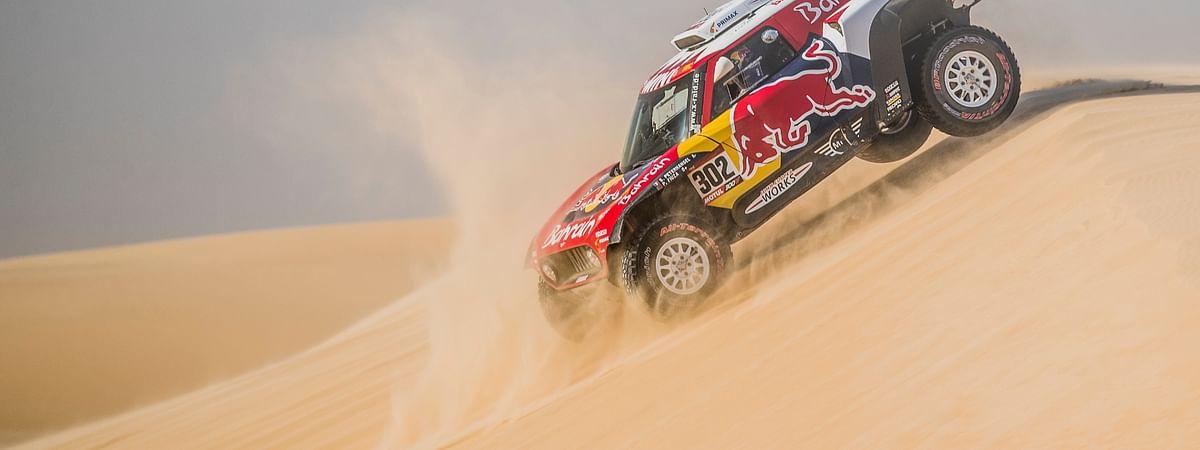 Stephane Peterhansel at the 2020 Dakar Rally