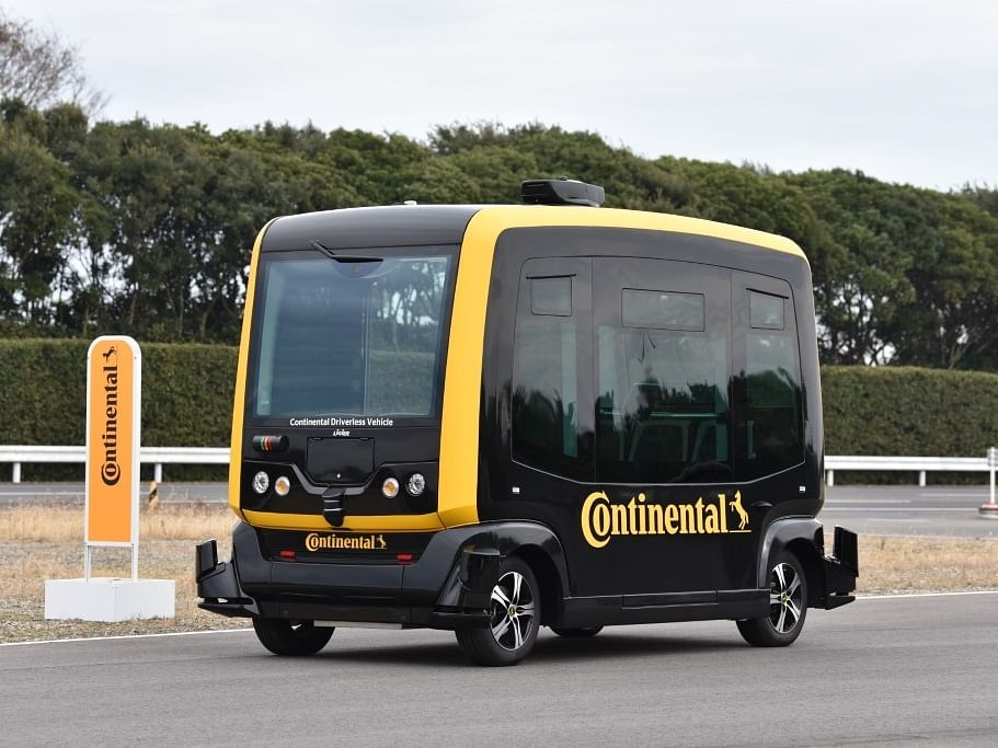 CUbE technology can work with one or multiple delivery robots and deploy them to handle the last-mile delivery of goods.