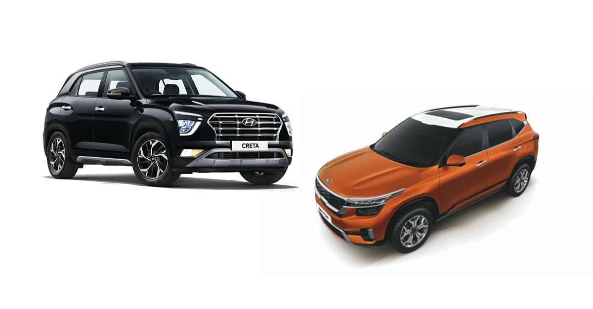 Updated Kia Seltos vs Hyundai Creta | Kia aims for the upper hand with more features